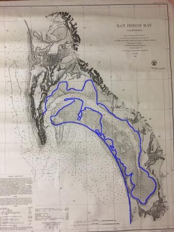 San Diego Bay Tidelands map lined 4 web